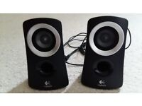 Logitech twin speakers