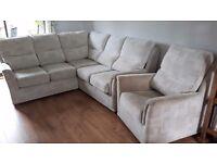 G Plan Corner Sofa & Armchair