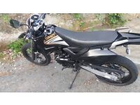 125 super moto in good condition 2015 its a nice bike and very reliable never let me down