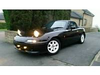 Mazda Mx5 Eunos import 82k STUNNING example. No rust issues.