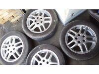 Vauxhall zafira, Vectra Alloys wheel