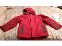 2 no Red Trespass ski jackets hardly worn as kids grow.Water and wind proof and insulated..
