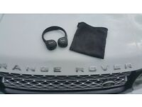 Range rover wirless head phones + transmitter