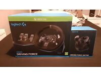 Logitech g920 + shifter All Boxes Included