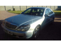 MERCEDES S320 CDI - DIESEL - 4 months mot -TODAY ONLY £900 TO CLEAR