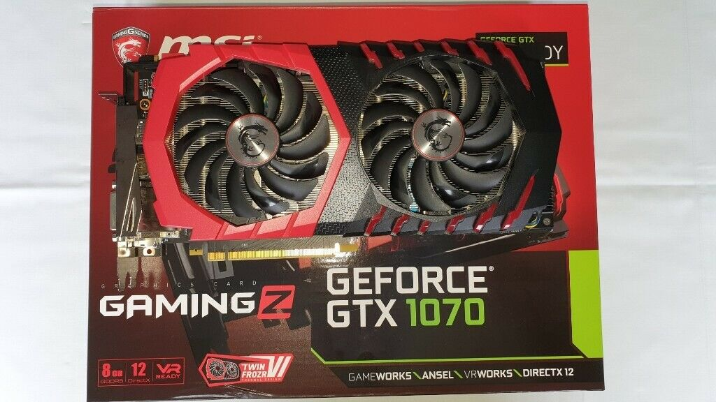 MSI GeForce GTX 1070 Gaming Z | in Bath, Somerset | Gumtree