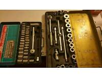 BARGAIN 2 SPANNERS SET MADE IN JAPAN ,MORE