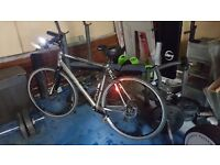 Boardman bike as new only used few times,lights ,pump, phone holder cost £5oo sell £250 ONO