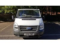 FORD TRANSIT 260 2.2. LONG MOT UNTIL JULY 2017. NEW CLUTCH,FLYWHEEL AND GEARBOX.
