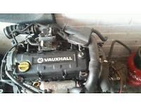 Vauxhall astra combo van Isuzu diesel engine and gearbox complete