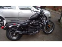 Harley Davidson 883r 6000 miles 2007 plus lots of extras