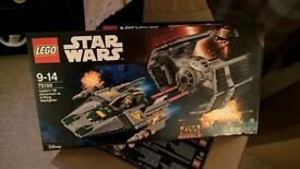 *Brand New Sealed rrp £79.99* LEGO Star Wars Vader's TIE Advanced vs A-Wing Starfighter 75150