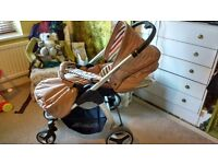 Hauck lacrosse shop and go pushchair complete