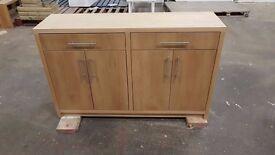 Veneer oak sideboard