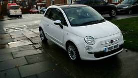 FIAT 500 LOUNGE 0.9CCTWIN AIR TURBO ALLOYS AND PANORAMIC ROOF