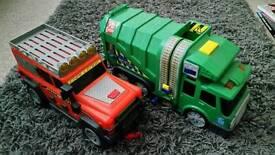 Boys toy vehicles