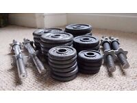 Cast Iron Weight Discs & Dumbbell bars