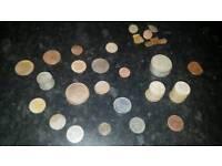 Old coins n badges