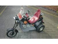 Child's large electric trike