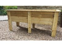 Brand new large Wooden Planter