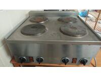 Lincat 4 burner catering cooker