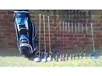 Full set of Ladies golf clubs and bag