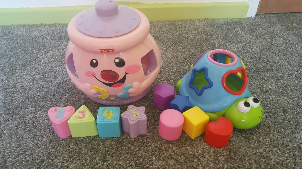 Baby shape sorter
