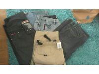Mens trouser / jeans bundle 4 x pairs all 36 inch waist
