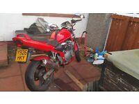 Suzuki bandit 600 with extras