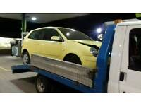 2X VOLKSWAGEN POLO'S 2005/2006 COMPLETE FOR BREAKING PARTS