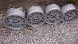 Set of 4 Oz Alloy Wheels - Ford fitment 15 x 7 inch; , 108 PCD