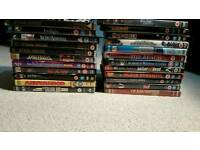 Mix DVDs sold job lot or individually