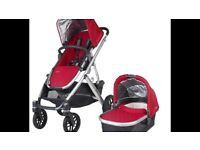 UPPABABY VISTA PUSHCHAIR AND CARRYCOT, EXCELLENT CONDITION