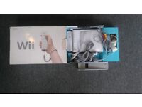 Wii Console in Box (Hardly Used)