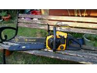 Chainsaw JCB petrol