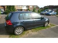 VW Golf. Bluemotion Matxh