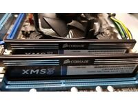 Computer Parts in full working order (Intel i5 2500 CPU, Corsair 8GB RAM, Asus Motherboard, Case)