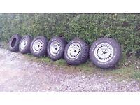 VW T25 T3 235/70/16 BFG A/T Wheels & Tyres