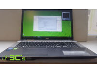 "Gaming Laptop Acer V3-771G 17.3"" Intel core i7 2.4ghz/32GB RAM /1TB HDD + 128GB SSD/3 month warranty"