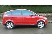 AUDI A2 SERVICED WITH 12 MONTHS MOT NO ADVISORIES NO RUST ONLY 63000 MILES