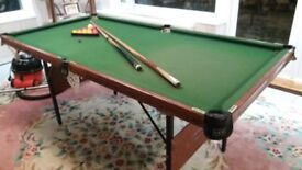 3ft x 6ft Snooker Table