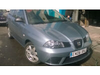 SEAT IBIZA 1.2 2006 LOW MILES PART EXC TO CLEAR