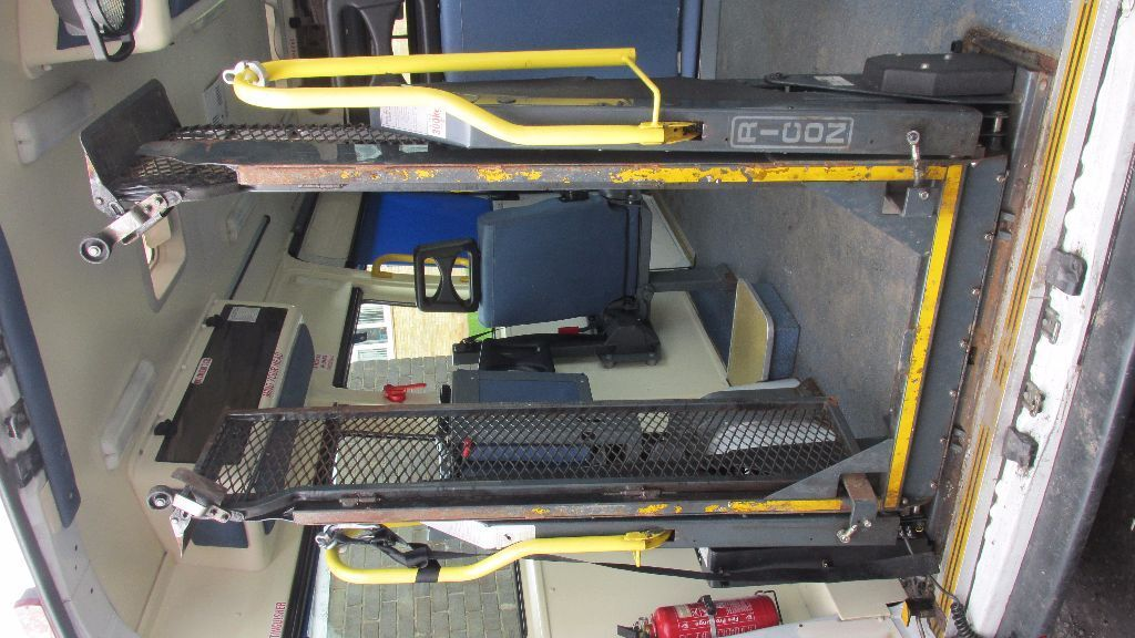 Van Wheelchair Lift Parts : Ricon wheelchair tail lift for minibus van in working