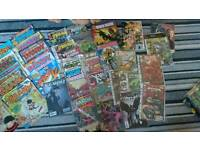 Lots of comics and mags