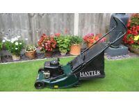 Hayter Harrier 41 petrol push Lawnmower
