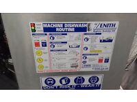 COMMERCIAL DISHWASHER CATERING EQUIPMENT RESTAURANT PUB, TWIN TANK ANTI CROSSOVER ELECTRIC FRYER