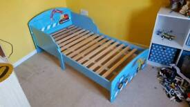 Digger Toddler Bed