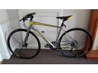 """BBL HYB comp 49cm 16"""" make BOARDMAN HYBRID size 20 imaculat codition due to used very little"""