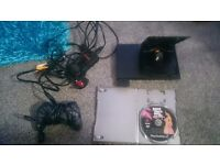 Playstation 2 with 40 games