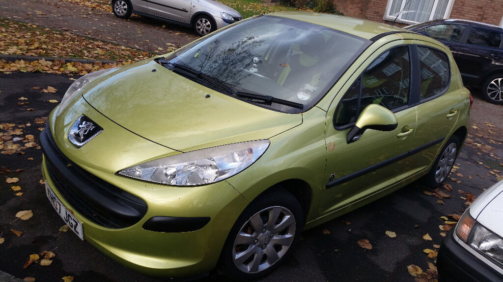 peugeot 207, 2007 excellant car for sale 1450 only
